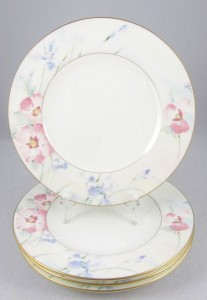 Mikasa White Salad Plates Matisse Bone China
